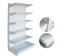 2000B Single Sided Supermarket Shelving TS006